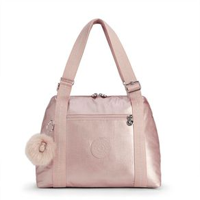Bolsa Maternidade Little Pumpkin Rosa Metallic Blush Kipling