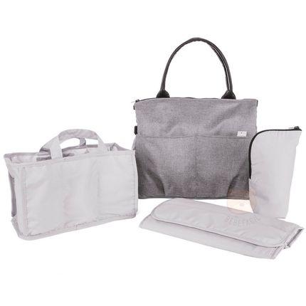 Bolsa Maternidade Organizadora para Bebê Easy Bag Cool Grey (0m+) - Chicco