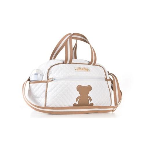 Bolsa Maternidade Travessura Matelassê Branca - LiliBag