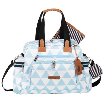Bolsa para Bebe Everyday Manhattan Azul - Masterbag