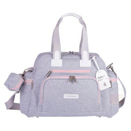 Bolsa para Bebe Everyday Moletom Rosa - Masterbag