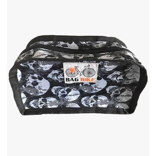 Bolsa para Guidão Petit Bag Bike Skull Gray