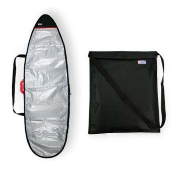 Bolsa Roupa Molhada Wetsuit + Capa Refletiva Surf 6'0-6'3
