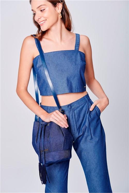 Bolsa Saco Jeans - Tam: UC / Cor: BLUE