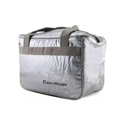 Bolsa Térmica 14 Litros Prateada - Bag Freezer