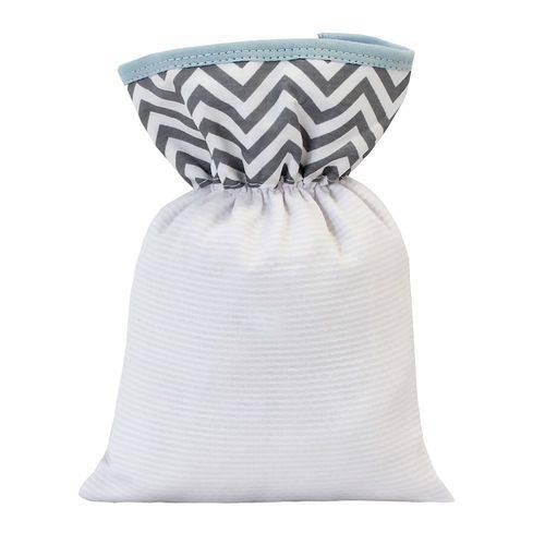 Bolsa Térmica Chevron Azul Bebê