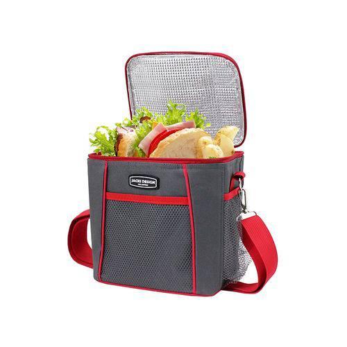Bolsa Termica com 2 Compartimentos Necessaire Marmiteira Lancheira Fitness com Alça Jacki Design