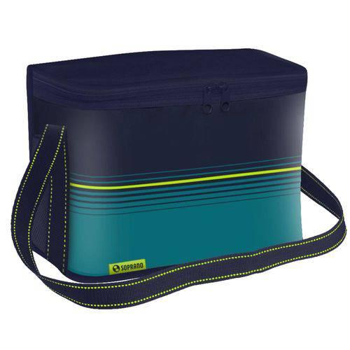 Bolsa Térmica Cooler 30 Litros Tropical Azul Soprano