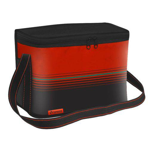 Bolsa Térmica Cooler 18 Litros Tropical - Vermelho