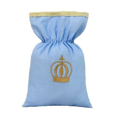 Bolsa Térmica Coroa Luxo Azul Bebê