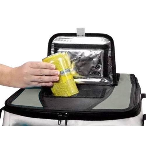 Bolsa Térmica Ice Cooler Capacidade 24 Litros com Alça Cor Cinza Mor