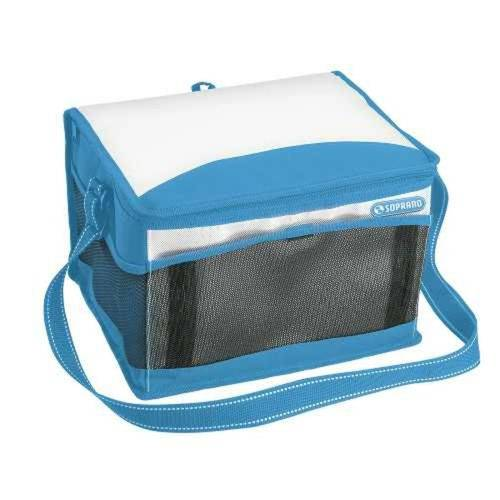 Bolsa Termica Isopor 12 Litros Azul Multiuso Casa Cozinha