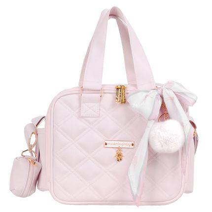 Bolsa Térmica Organizadora para Bebê Ballet Rosa - Masterbag