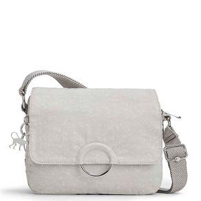 Bolsa Transversal Anay Branca White Linen Kipling
