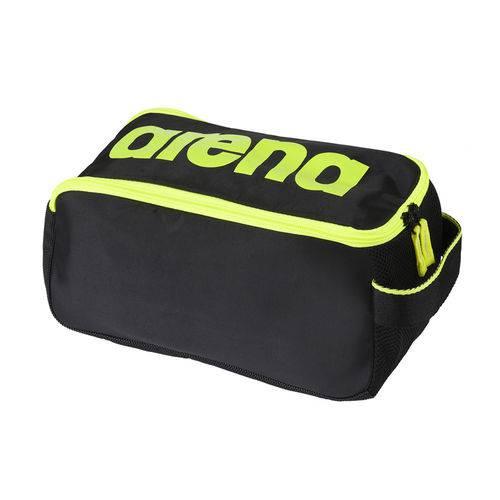 Bolsa Unissex Arena Spiky 2 Shoe Bag / Preto-Amarelo