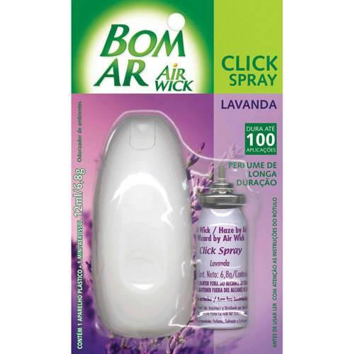 Bom Ar Click Spray Lavanda 12ml - Reckitt