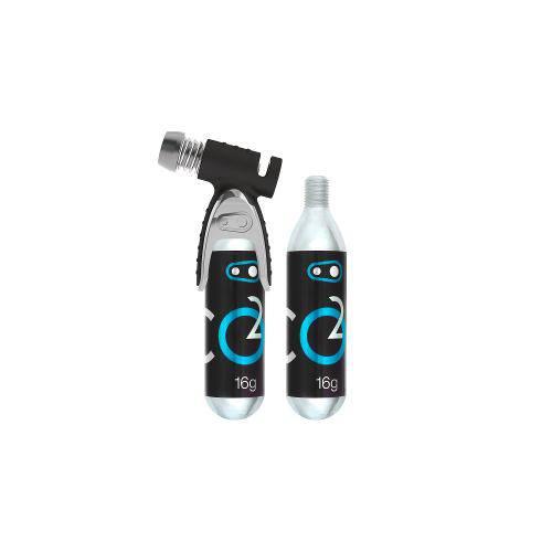 Bomba CO2 Crank Brothers com 2 Cartuchos