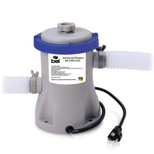 Bomba de Filtragem Bel Fix 1250L/Hr de 110V