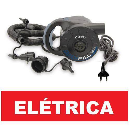 Bomba de Inflar Elétrica Intex Quick Fill 160 110v #66623br