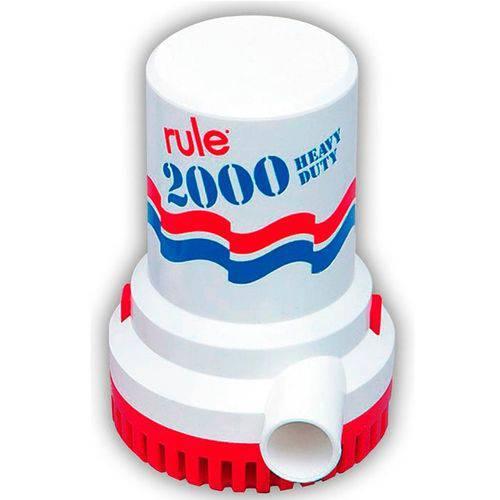 Bomba de Porão 2000 Gph Rule 6586 Litros Hora 12v Náutica