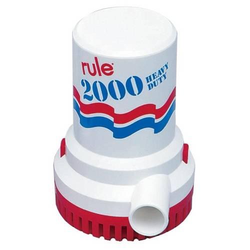 Bomba de Porão Rule 2000gph 12v