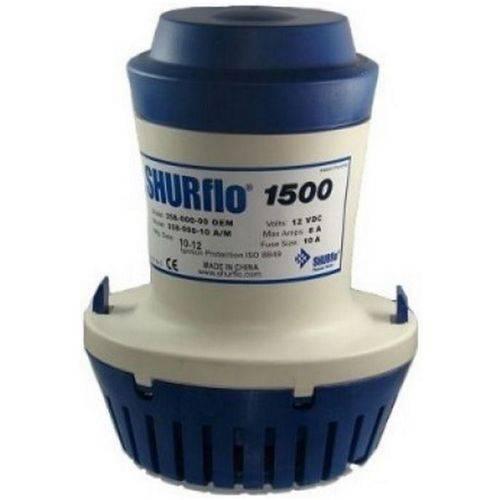 Bomba de Porão Submersível Shurflo 1500 GPH 12V Modelo 358-000-10