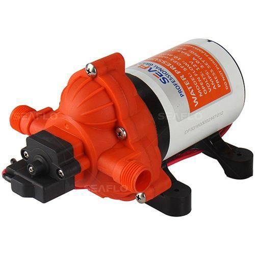 Bomba de Pressurização Automática Seaflo 2.0 GPM 12V 30 PSI com Pressostato Modelo SFDP1-020-030-33