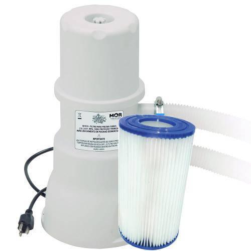 Bomba Filtrante 220v 3600L/H Mor Filtro para Piscina Estrutural ou Inflável - MR8 1514