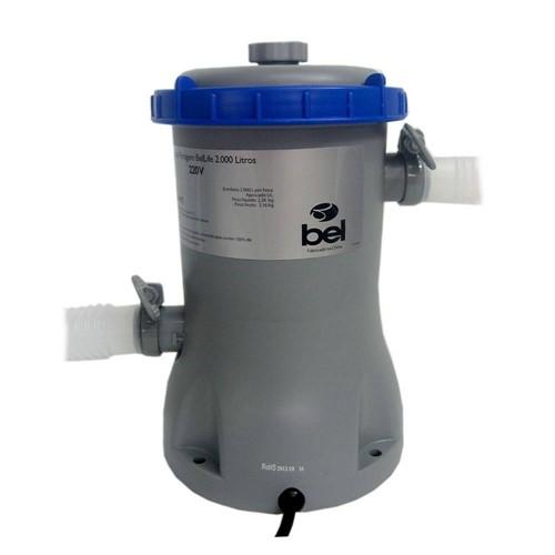 Bomba Filtrante 220v Filtro para Piscina Inflável ou Estrutural 2000L/H- BelLife BLX8 1147