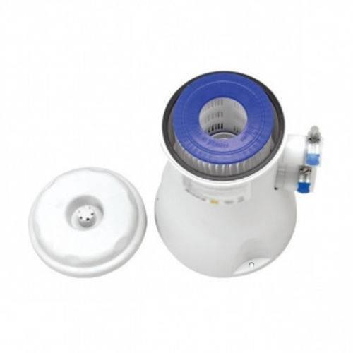 Bomba Filtrante Filtro para Piscina Vazao 2.200 L/H 110v com Refil
