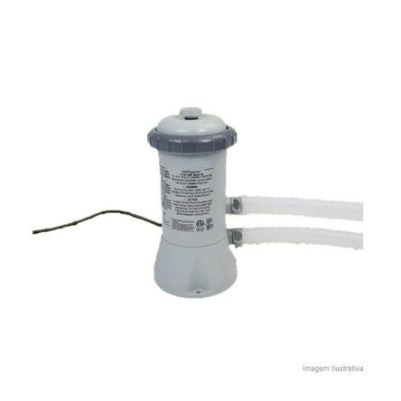 Bomba Filtro para Piscina de Armação e Easy Set 12' 127V Cinza Intex