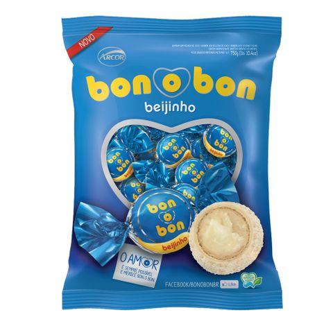 Bombom Bonobon Beijinho 15g C/50 - Arcor