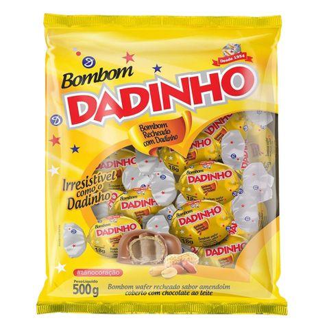 Bombom Recheado Dadinho 500g - Dizioli