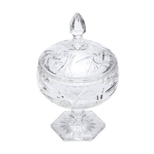 Bomboniere C/pé de Cristal Prima 11x18cm