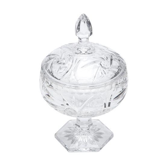 Bomboniere Prima de Cristal com Pé 11X18 Cm