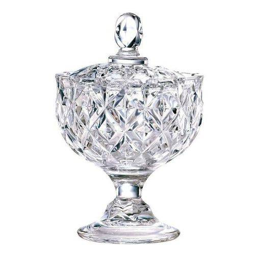 Bomboniere Rostin com PE em Cristal 14CM Lhermitage 23346
