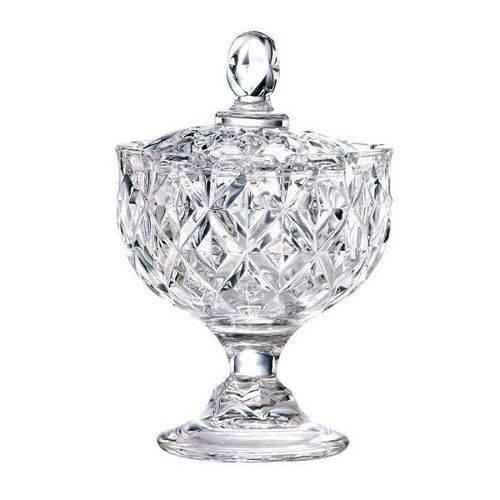 Bomboniere Rostin com Pe em Cristal 24cm Lhermitage 23383