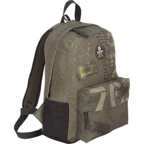 Bondy 810 Backpack Green Patches