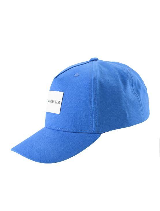 Bone Ckj Masc Basico Etiqueta - Azul Royal - U