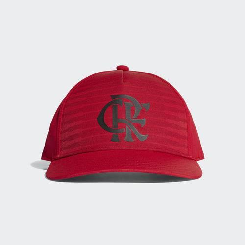 Boné Flamengo Adidas S16 CW Vermelho e Preto 2018 2019 CY5543