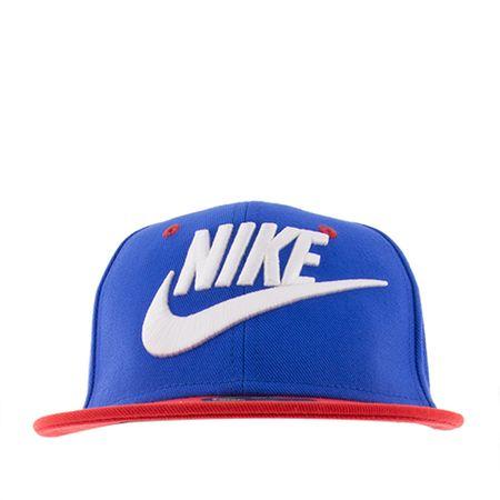 Boné Infantil Nike Futura True Azul e Vermelho -