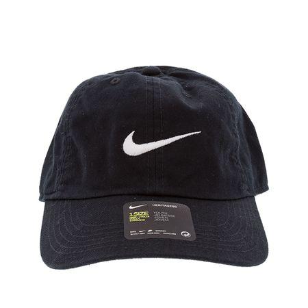Boné Infantil Nike New Swoosh Heritage Preto -