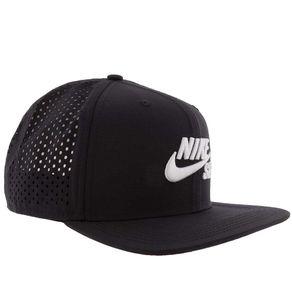 Boné Nike Unissex com Perfuros Preto -