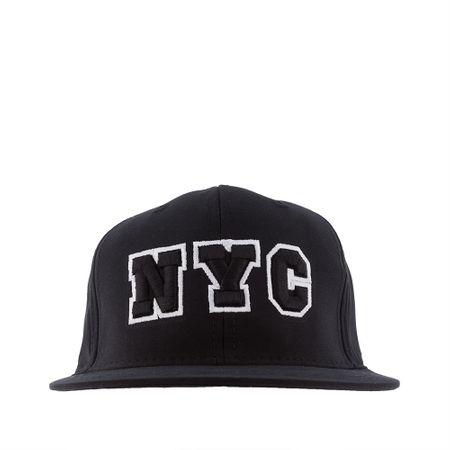 Boné STZ Aba Reta New York Preto -