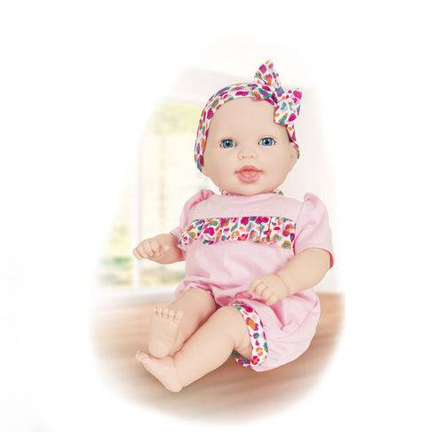 Boneca - 44cm - Life Baby - Papinha - Cotiplás