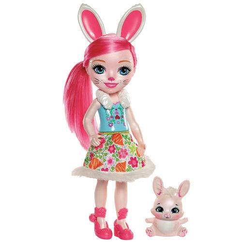 Boneca Articulada - 30 Cm - Enchantimals - Bree Bunny - Mattel