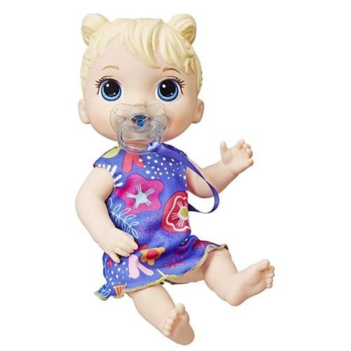 Boneca Baby Alive - Bebê Primeiros Sons Loira E3690 - HASBRO