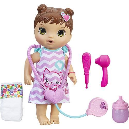Boneca Baby Alive Cuida de Mim Morena C2692 - Hasbro