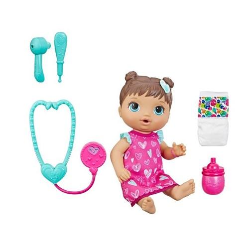 Boneca Baby Alive - Cuida de Mim Morena E5837 - HASBRO