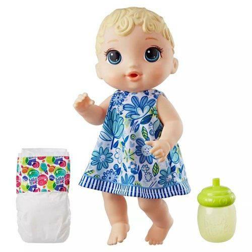 Boneca Baby Alive Hora do Xixi Loira Nova - Hasbro E0385